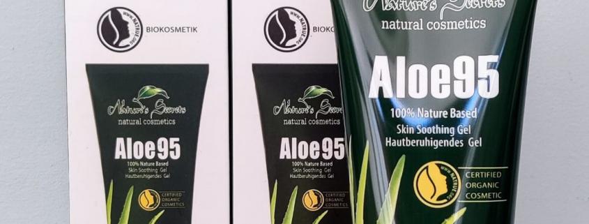Aloe Vera gel, natuurlijk, biologisch, organisch